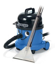 Numatic George GVE370 Commercial Wet and Dry Vacuum Cleaner and Shampoo,  MADE IN ENGLAND, 2  YEAR COMMERCIAL WARRANTY