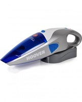 Hoover 12V  HH5220 Rechargeable Wet & Dry Handvac Vacuum Cleaner with Window Cleaning Attachments