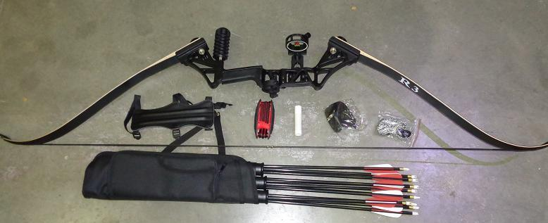 Topoint R3 Recurve Hunting bow kit 58