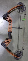 Mission Craze compound bow - Orange Tiger