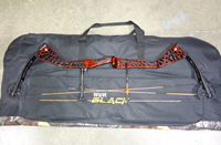 """Win and Win Dragonfly 38 Compound Bow RH Marble Red 50lbs T2 DL 28.5-32"""""""