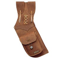 Neet 2595 Traditional Field quiver Suede