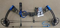Topoint T3 Compound bow Blue black  50-60# 29""