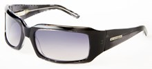 Odyssey Mini Groove Black Grid Sunglasses