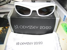 Odyssey C-Biscuit White Sunglasses SALE