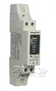 Single Phase Kilowatt Hour Meter 30AMP Din Rail mount 1 Module