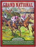 SALE PRICE..Grand National Art - A3 Metal Wall Sign