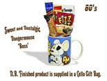Dangermouse 'Your the Boss' Mug jammed with/without a teatime selection of 80's themed sweets. - Copy