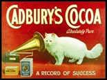 Cadbury Cocoa A5 Tin Sign