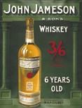 Jameson Whiskey A3 Tin Sign