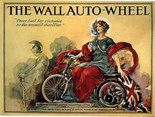 The Wall Autowheel - A3 Sign