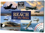 SALE PRICE..Reach for the Skies Jigsaws (x4) with Music CD