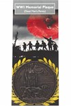 NEW IN..WWI Memorial Plaque - Dead Man's Penny
