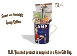 CAMP Coffee China Mug with/without 1950's Old Fashioned Sweets