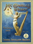 McConnell's Whiskey A3 Metal Wall Sign