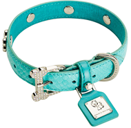 Chrome Bones Eternity Turquoise Diamonds Collar