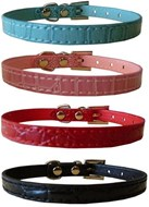 Croc Personalised Dog Collars