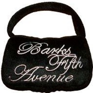 Barks Fifth Avenue Purse Toy