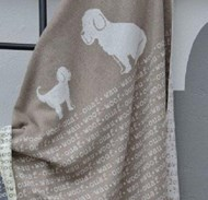 Smoke Woof Woof Dog Blanket