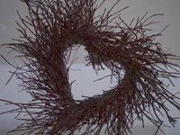 Heart Wreath-28""