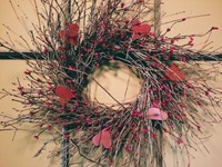 Heart Garland Wreath