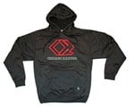 Black CH Embroidered Hoodie