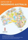 Small AIATSIS map of Indigenous Australia Folded Pocket Map
