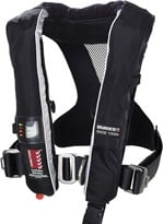Burke 150N Race Inflatable PFD with Harness