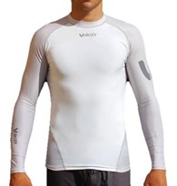 Vaikobi V-Ocean Long Sleeve UV Top White Grey