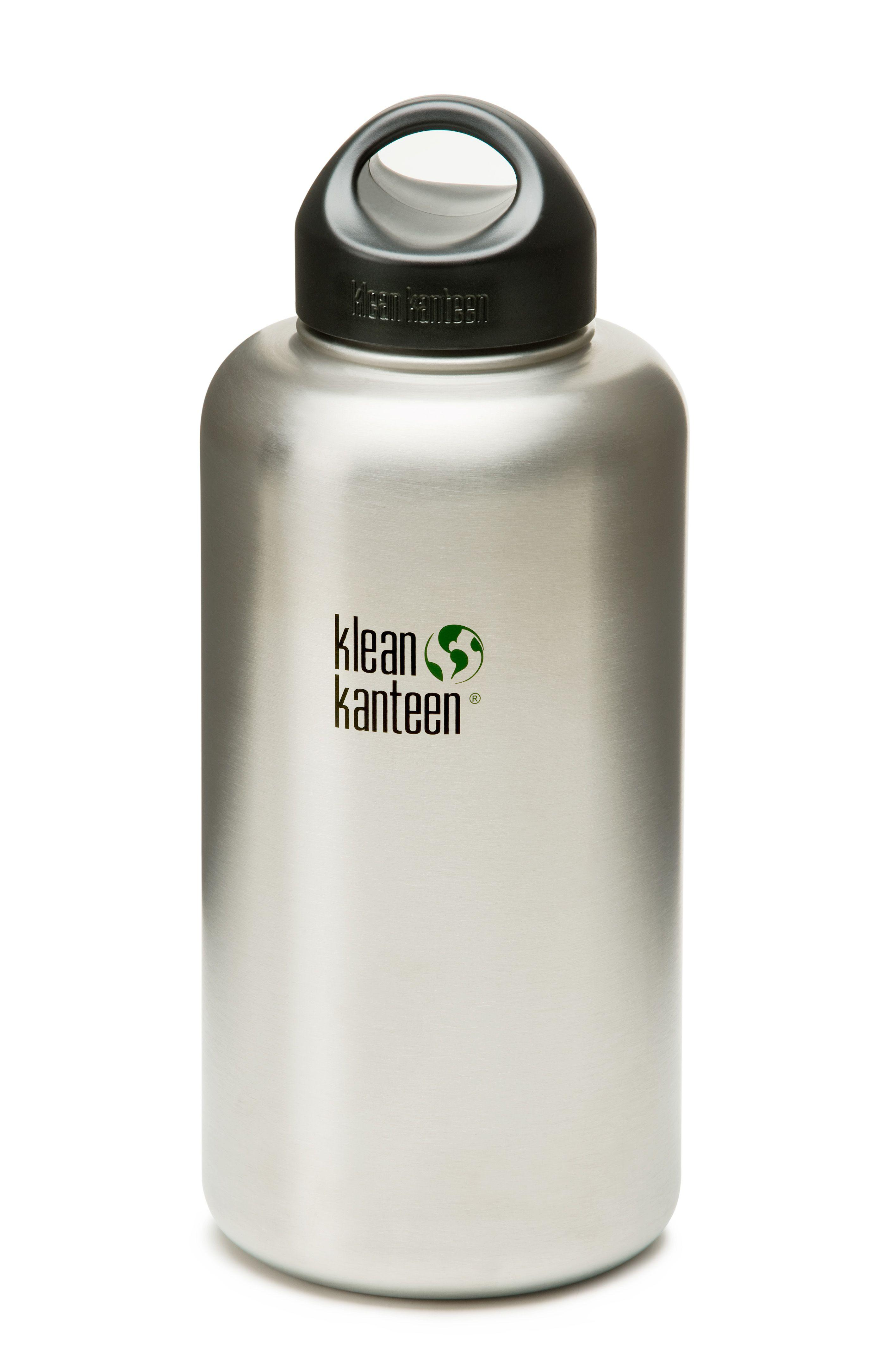 Klean Kanteen Wide 64 Oz 1900 Ml Brushed Stainless Steel