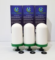 Ultraceram Pack of Three - Fluoride Removal Filter Cartridge for Counter Top Gravity Water Filters