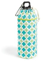 Keep Leaf  Tiles Large Organic Insulated Bottle Bag for 800 ml to 1200 ml Bottles