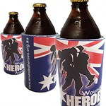 Wounded Heroes Stubby Cooler - Australian Made