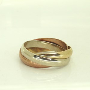 NEW! 9ct gold Russian Wedding Ring