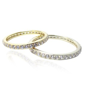 The 2mm Gold Eternity Band