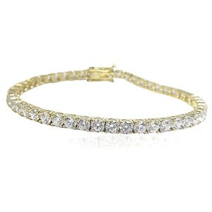 The Gold Tennis Bracelet