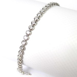 NEW - The Round Stone Tennis Bracelet