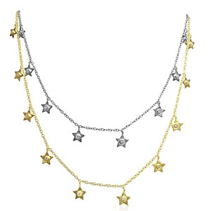 The Diamond Star Light, Star Bright Necklaces