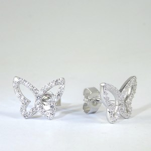 New! The Twinkling Butterfly Stud