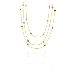 The Long Gem By The Yard Necklace