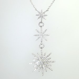 NEW! Triple Star Necklace