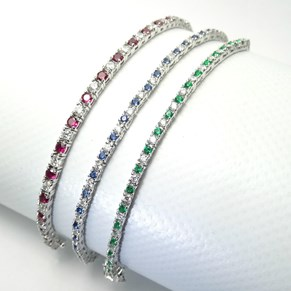 New -The Fine Tennis Bracelet