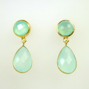 NEW! Gem Drop Earrings - reduced from £54