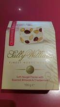 Sally Williams soft Nougat with Almonds & Cranberries 150g