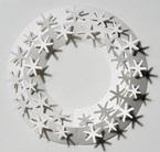 Christmas wreath - snowflake