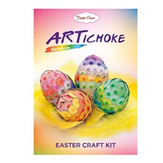 ARTichoke Rainbow, Easter craft kit
