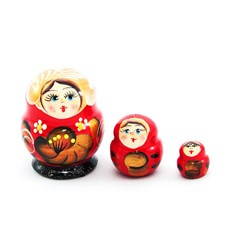 Little Pretty Matryoska, 3pcs