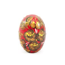 Russian Easter Wooden Egg