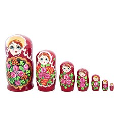 Flower Matryoshka, 7pcs