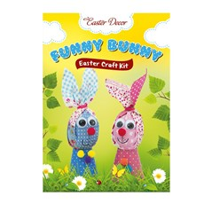 Funny Bunnies, Easter craft kit